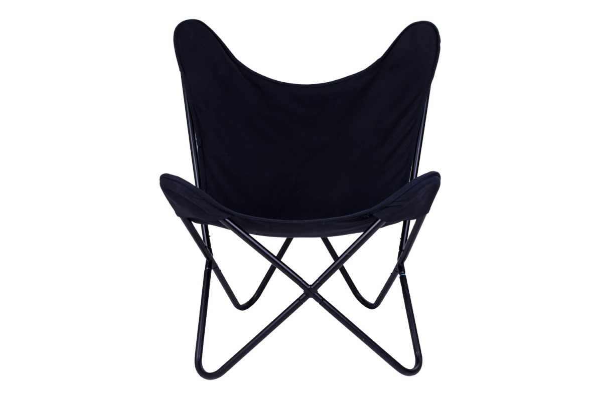 Stílusos fotel Marshall, fekete