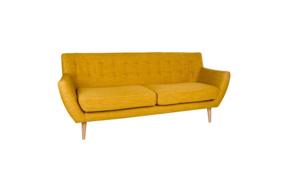 Stílusos kanapé Aaliyah - sárga
