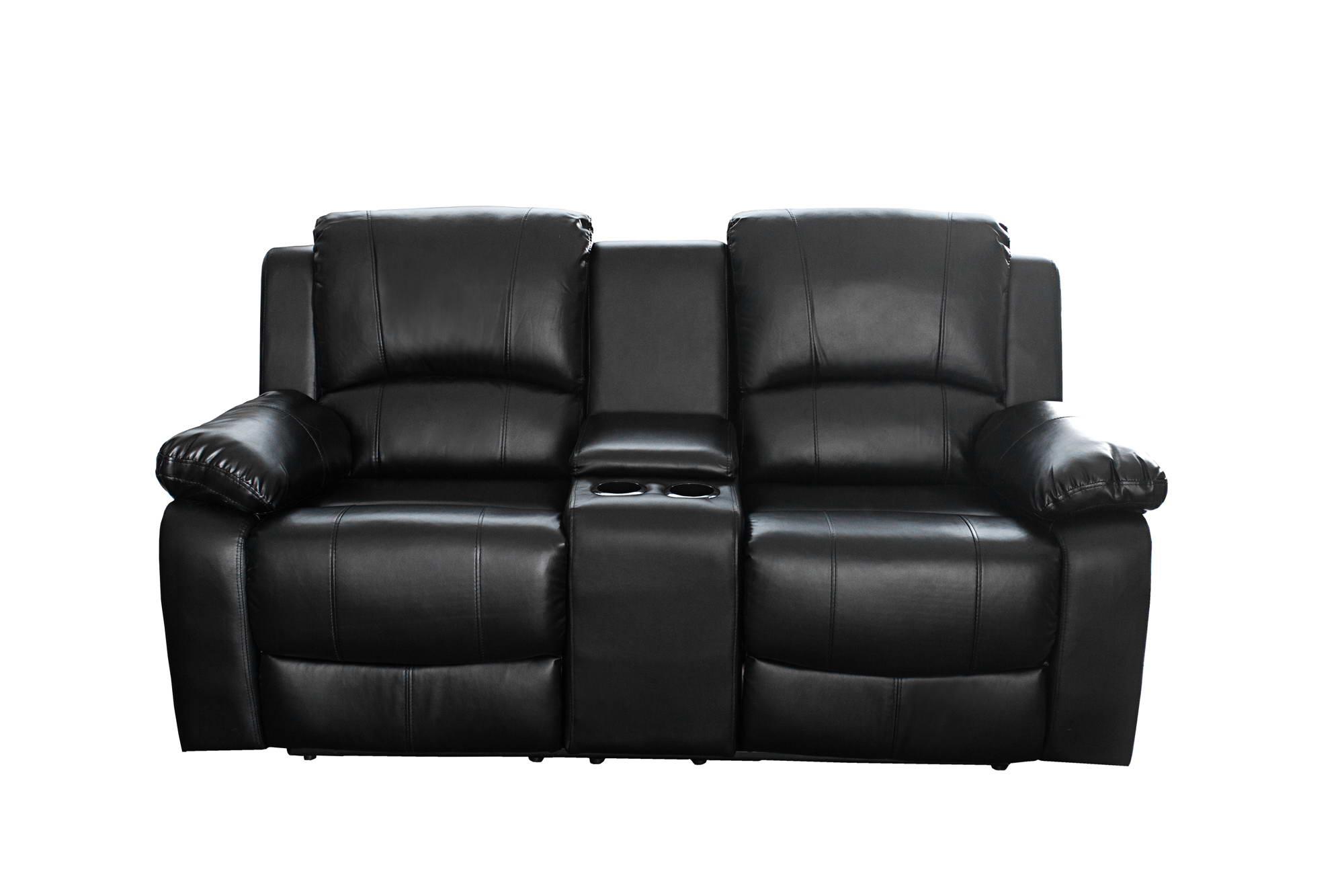 Dupla fotel Cinema fekete
