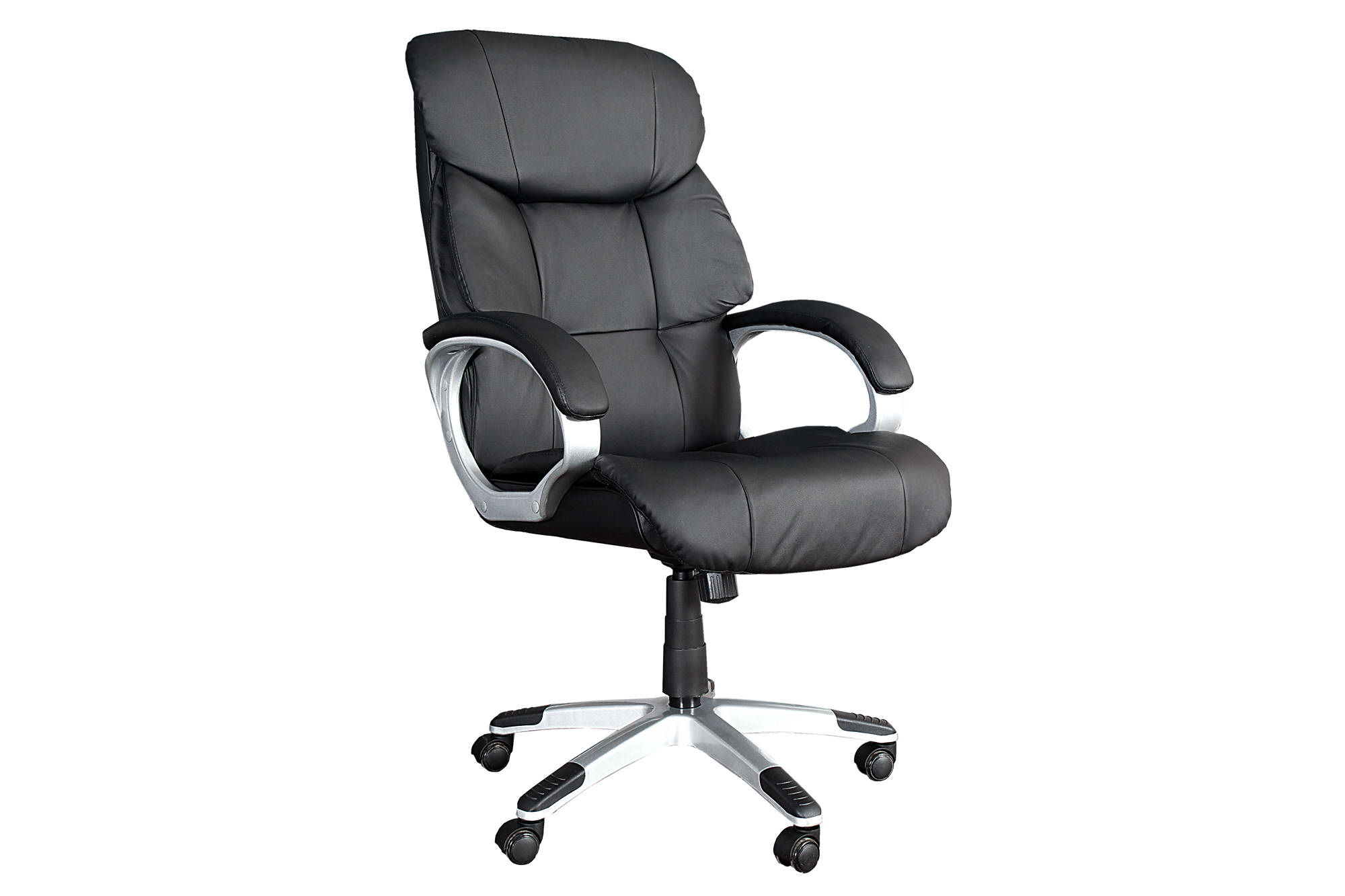 Irodai szék Powerful 150kg-ig - fekete