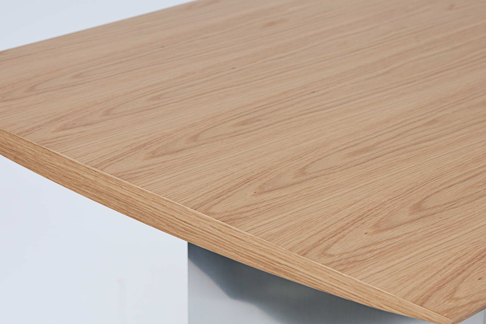 Modern étkezőasztal Magic 200 cm tölgy furnér