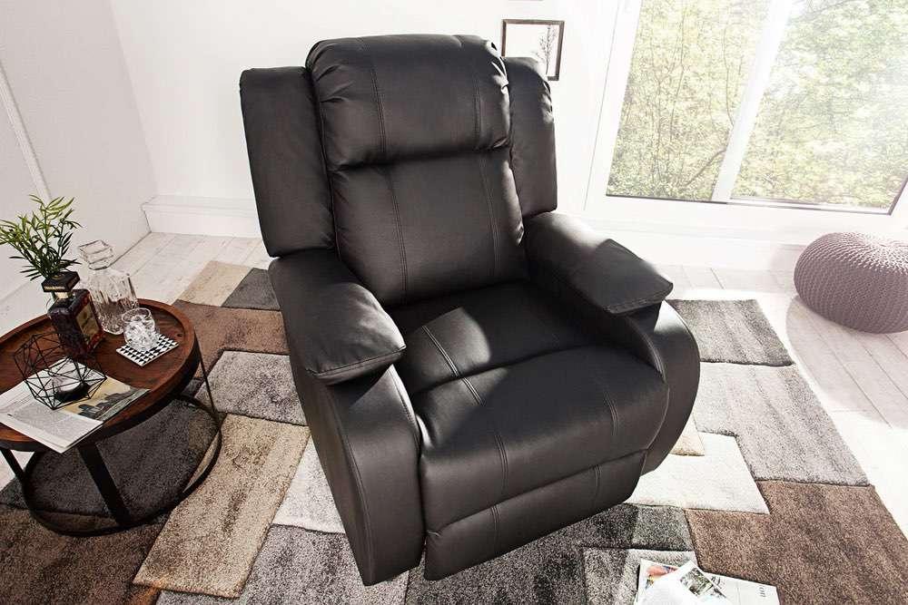 Relax fotel Movie fekete
