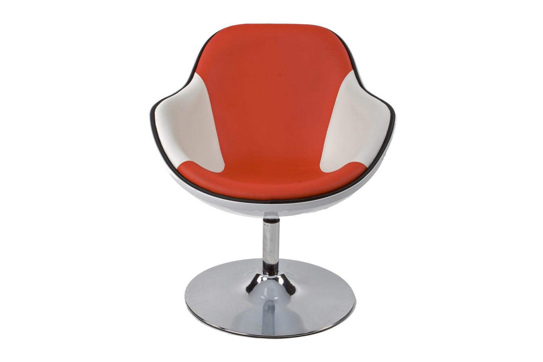 Fotel Fastchair fehér / piros