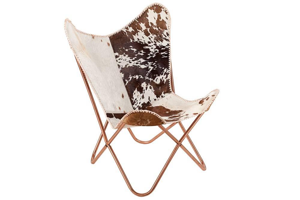 Luxus fotel Fairy barna - fehér