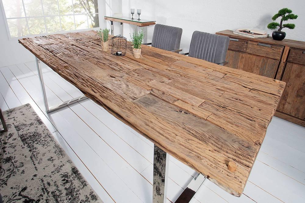 Luxus étkezőasztal masszívból Shark 240 cm