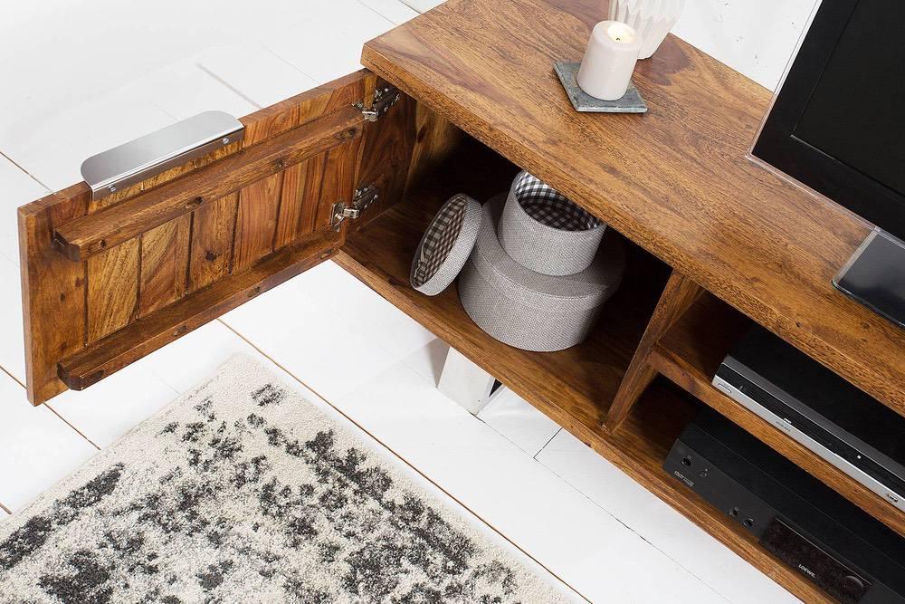 Luxus TV asztal Falco masszív fából