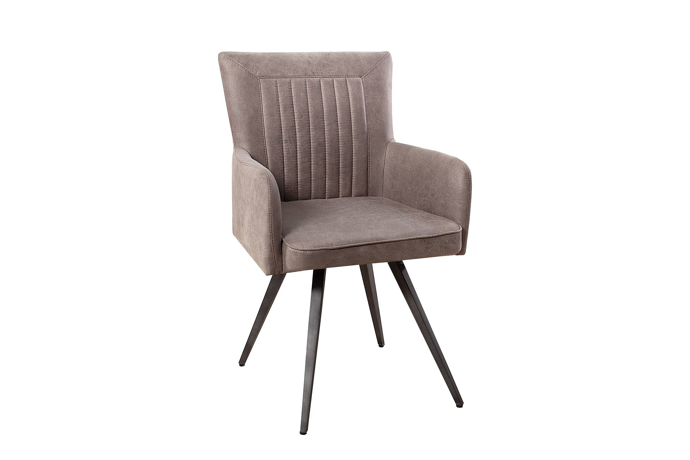 Stílusos szék Adda - szürke