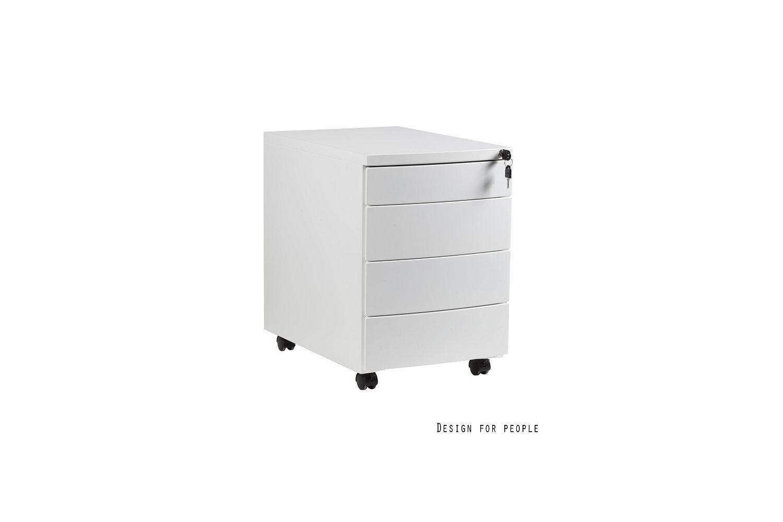 Stílusos szekrény Carmel fehér