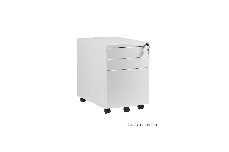 Stílusos szekrény Kristy fehér