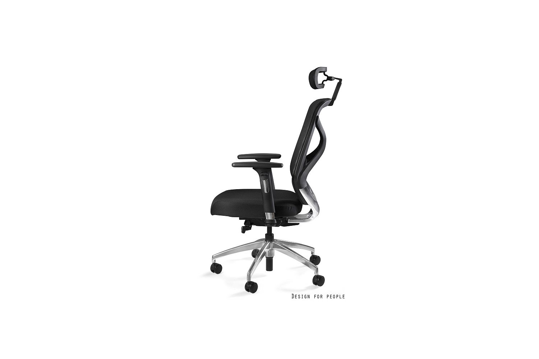 Irodai szék Harry szövet / fekete