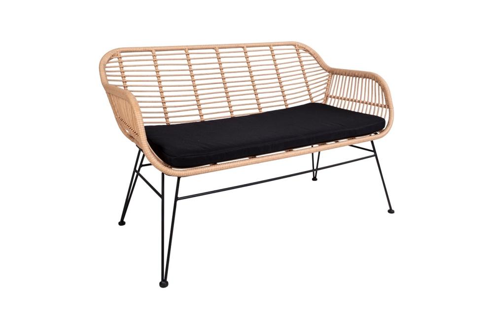 Prince dizájnos kanapé, natúr