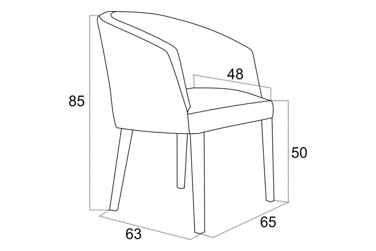 Stílusos fotel Saul - különféle színek