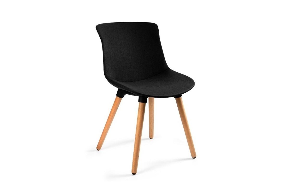 Stílusos szék Ainsley MR, anyag, fekete