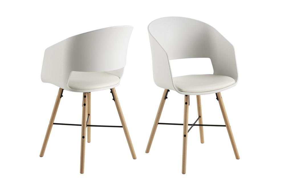 Ízléses szék Alexei - fehér