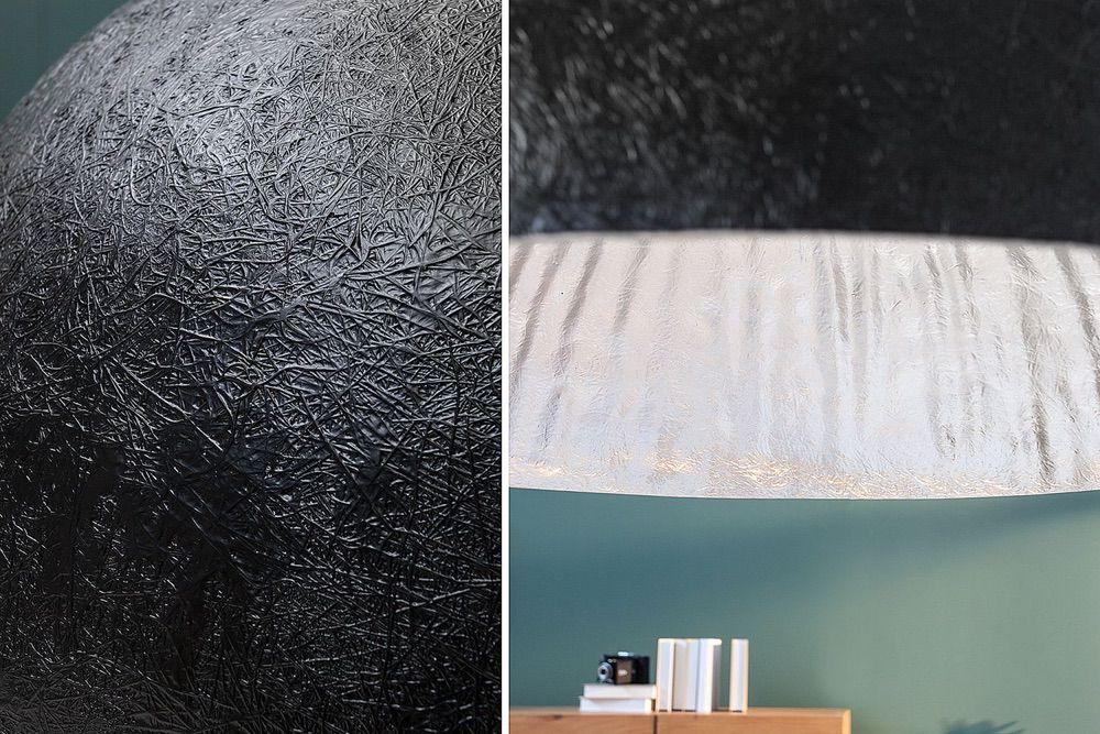 Függőlámpa Heat 50 cm / fekete - ezüst