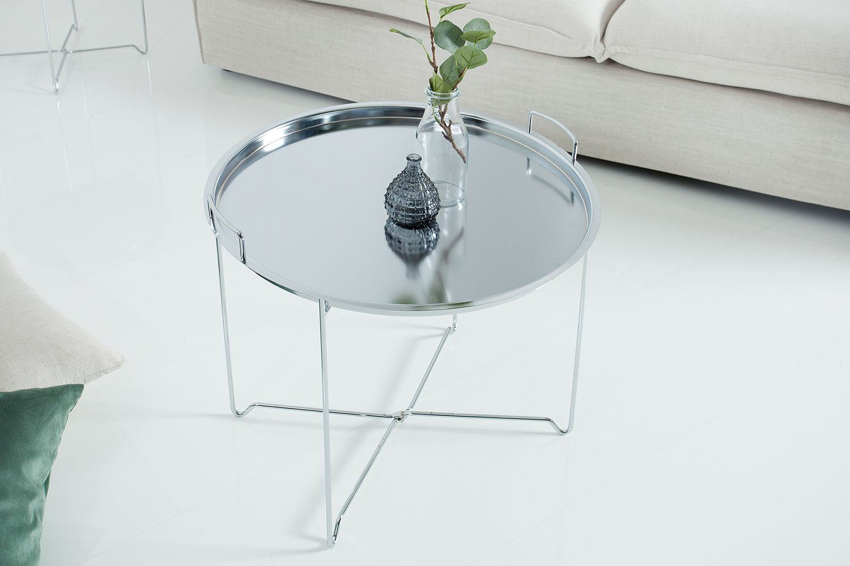 Dohányzóasztal Maroko / ezüst
