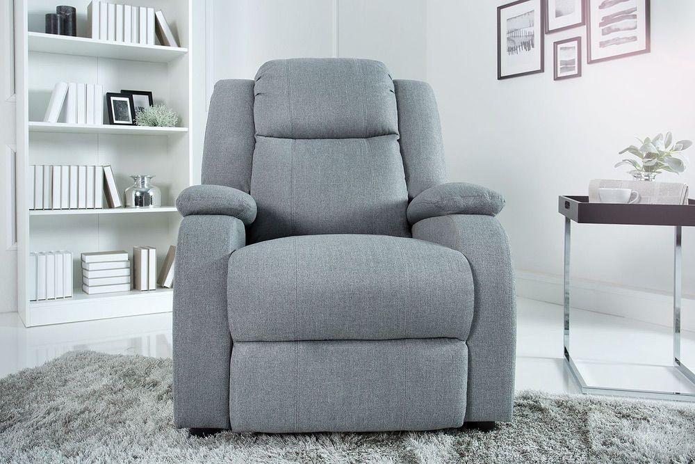 Relax fotel Movie világos szürke