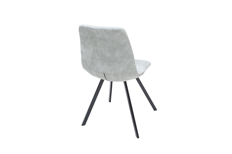 Stílusos szék Rotterdam Retro / világos szürke