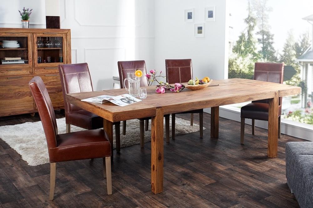 Széthúzható étkezőasztal masszív 160-240 cm Las Palmas