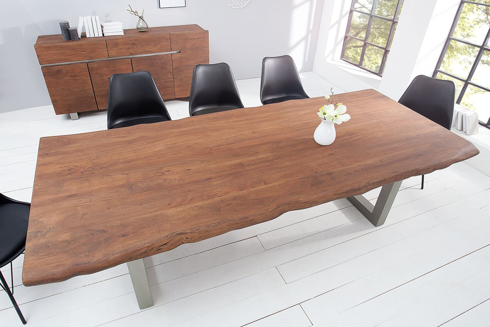 Luxus étkezőasztal Massive 200 cm / akác