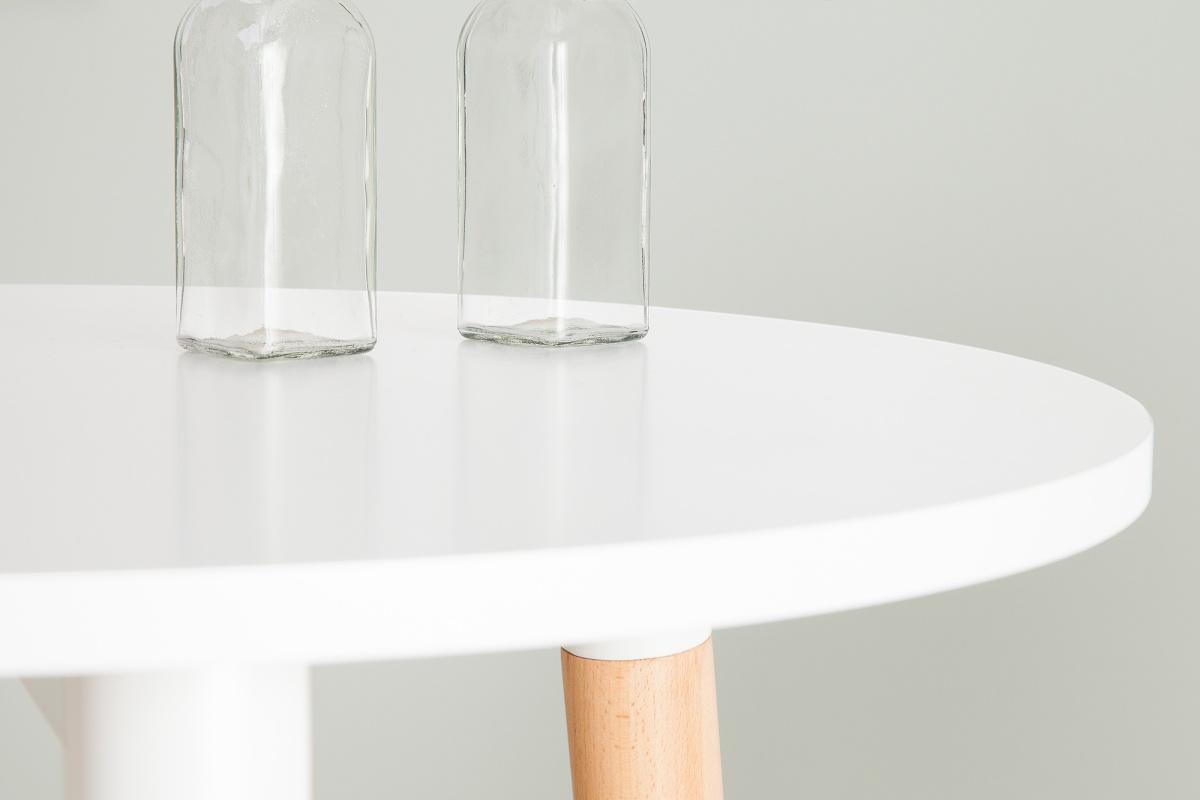 Magas bár asztal Sweden fehér 105 cm