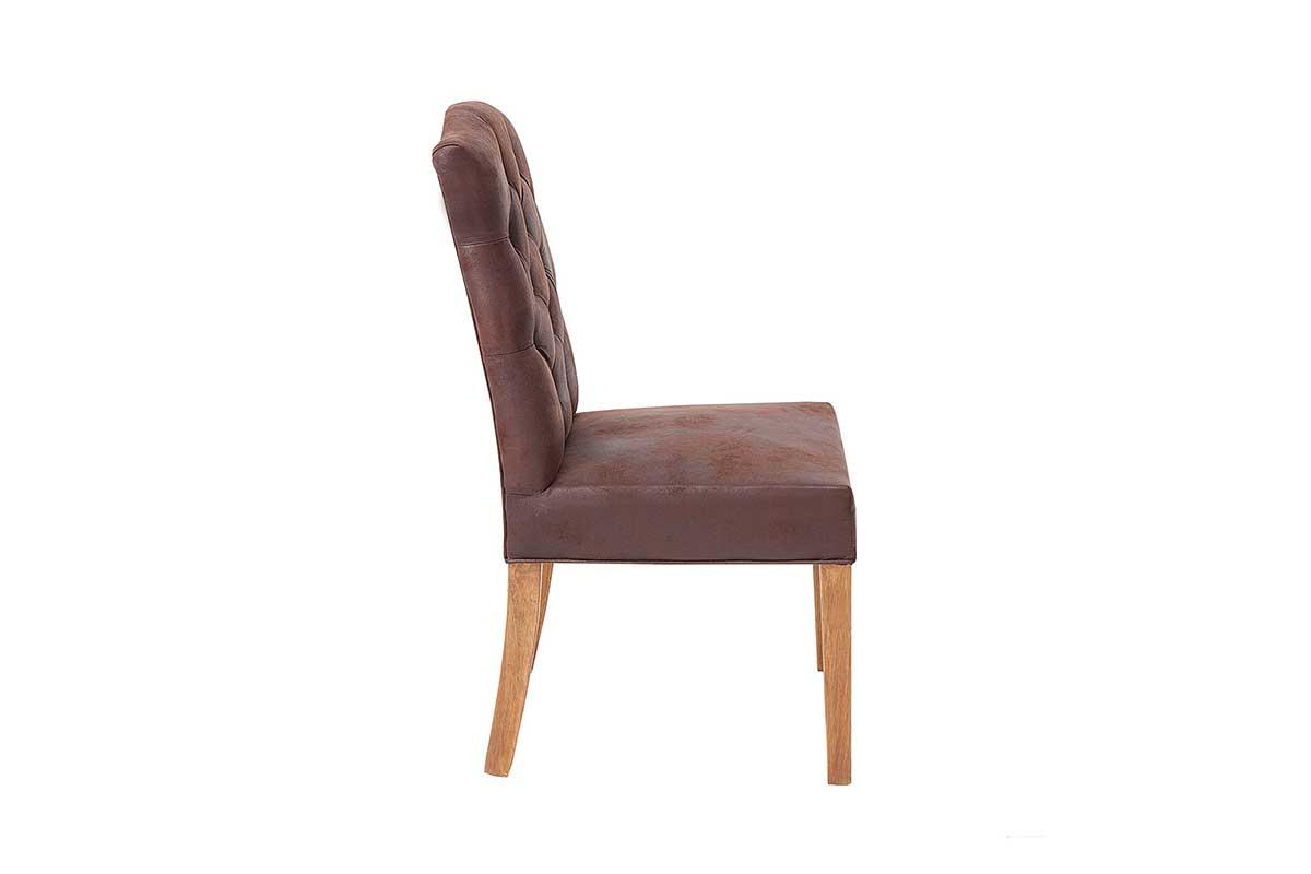 Stílusos szék Queen kávé barna