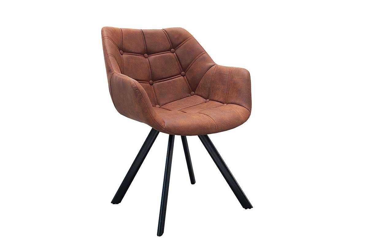 Stílusos szék Selena barna antik