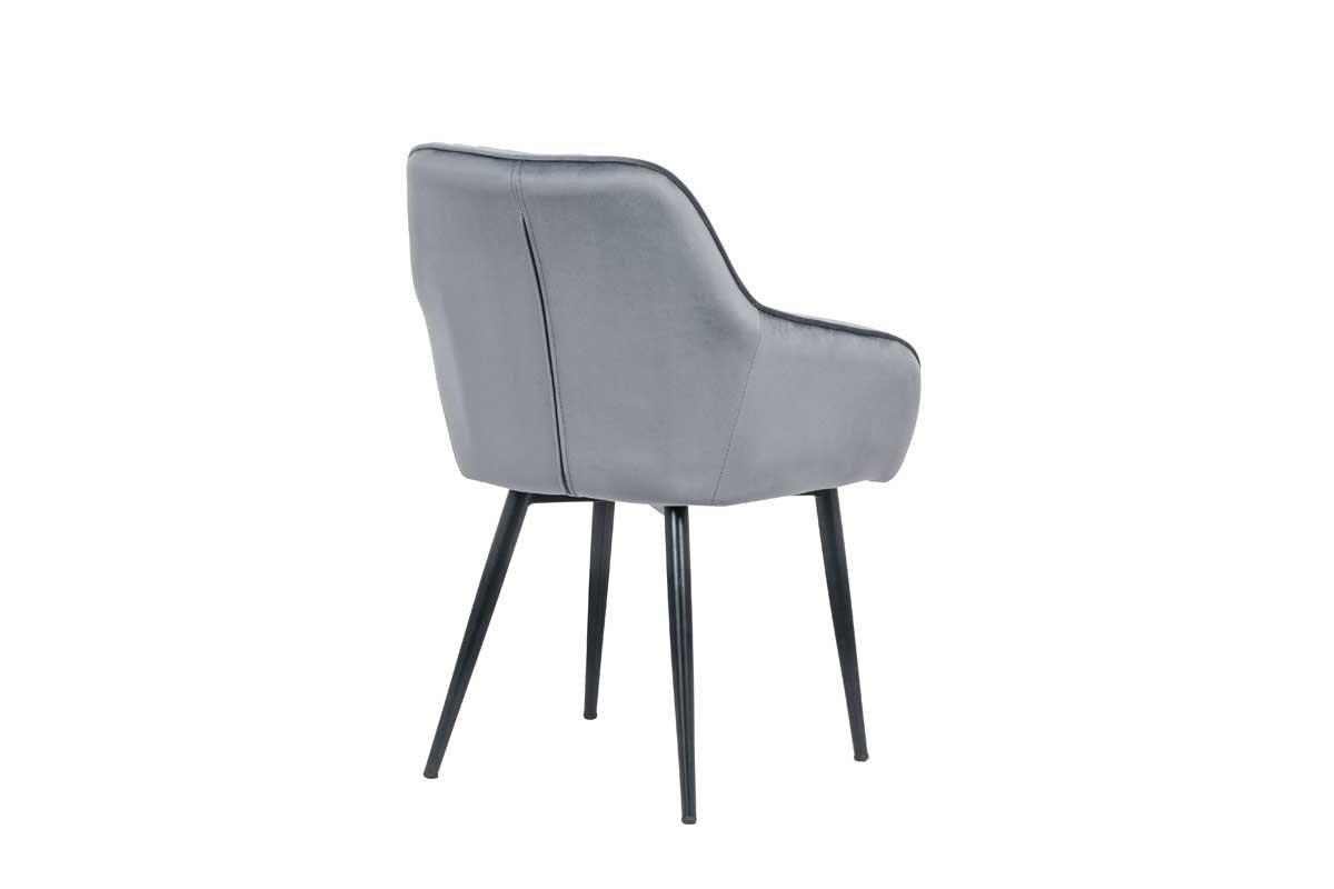 Stílusos szék Esmeralda szürke