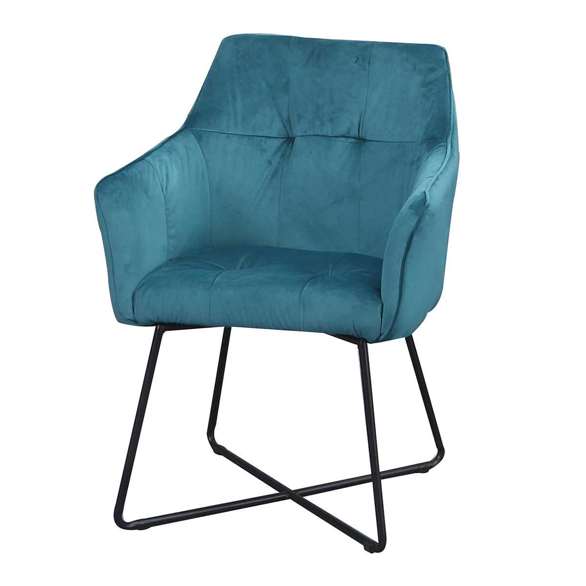 Stílusos szék Giuliana türkizkék