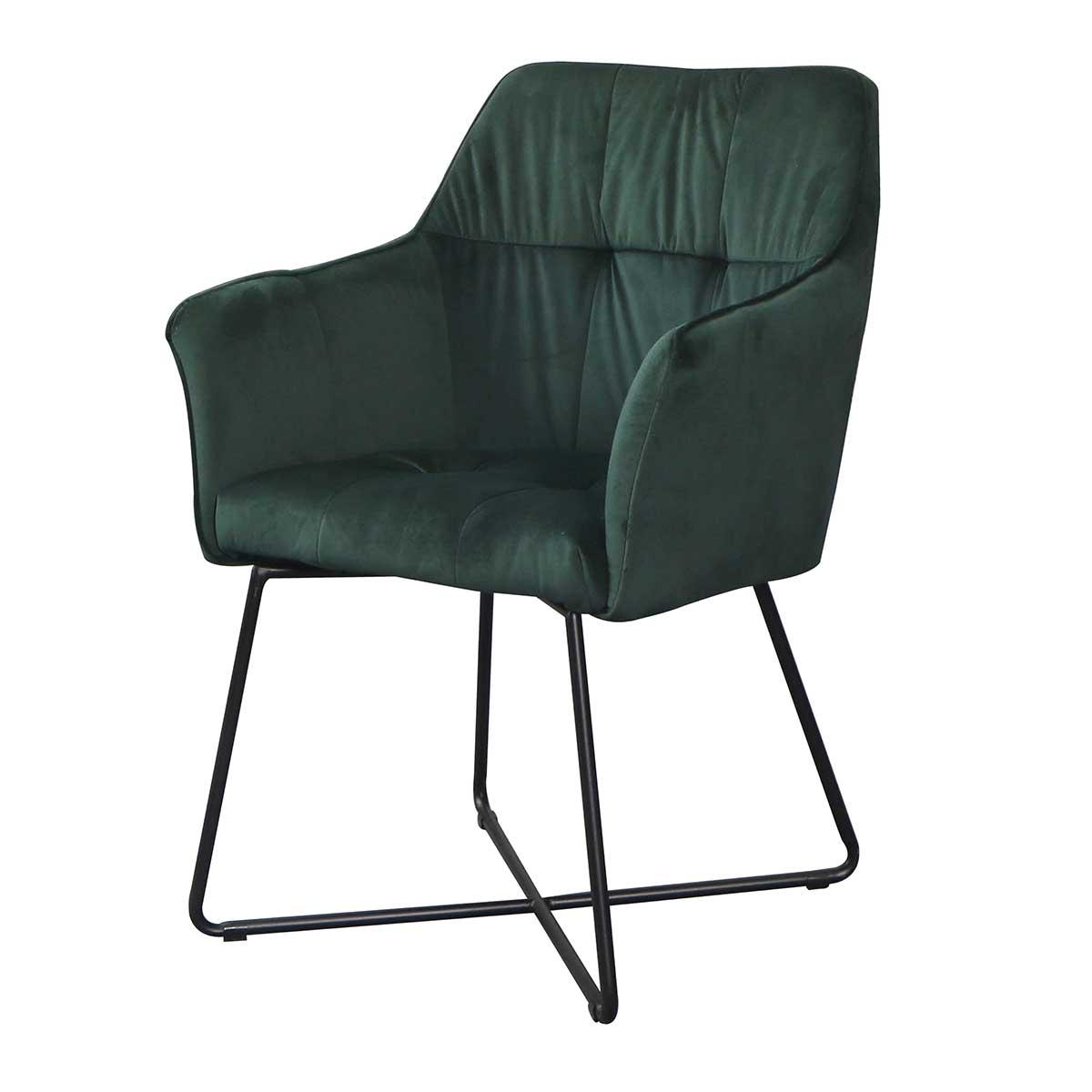 Stílusos szék Giuliana zöld - raktáron SK-RP 1db