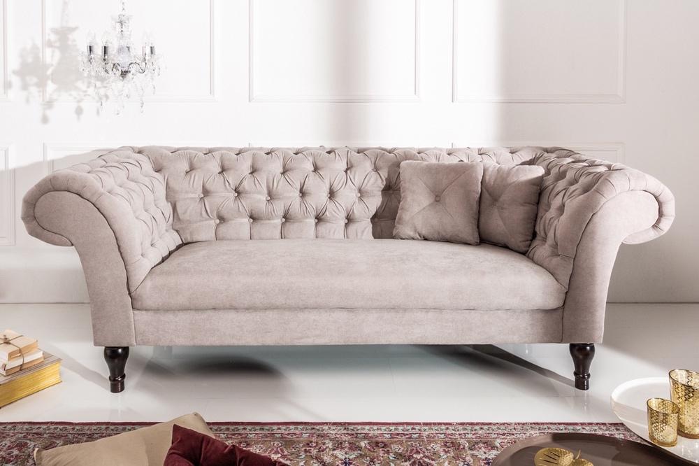 Stílusos ülőgarnitúra Rubby 225 cm / barna