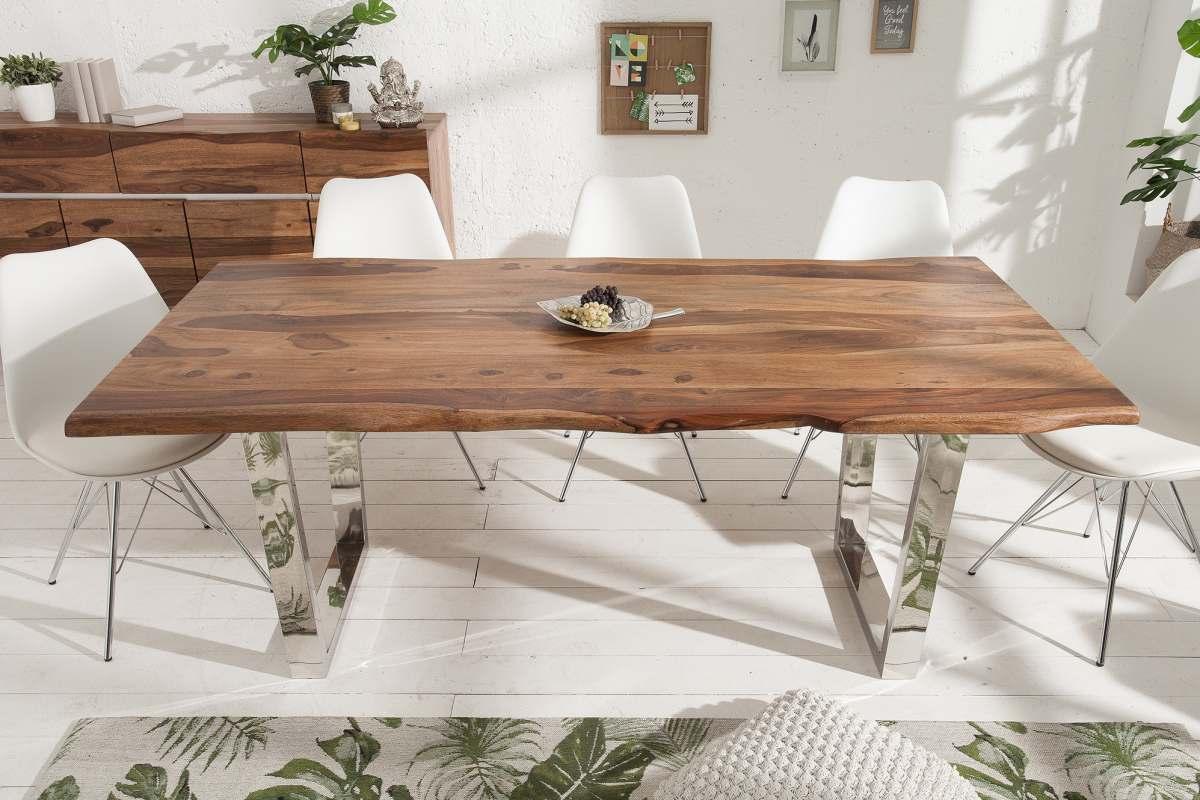Luxus étkezőasztal Massive S 180 cm sheesham