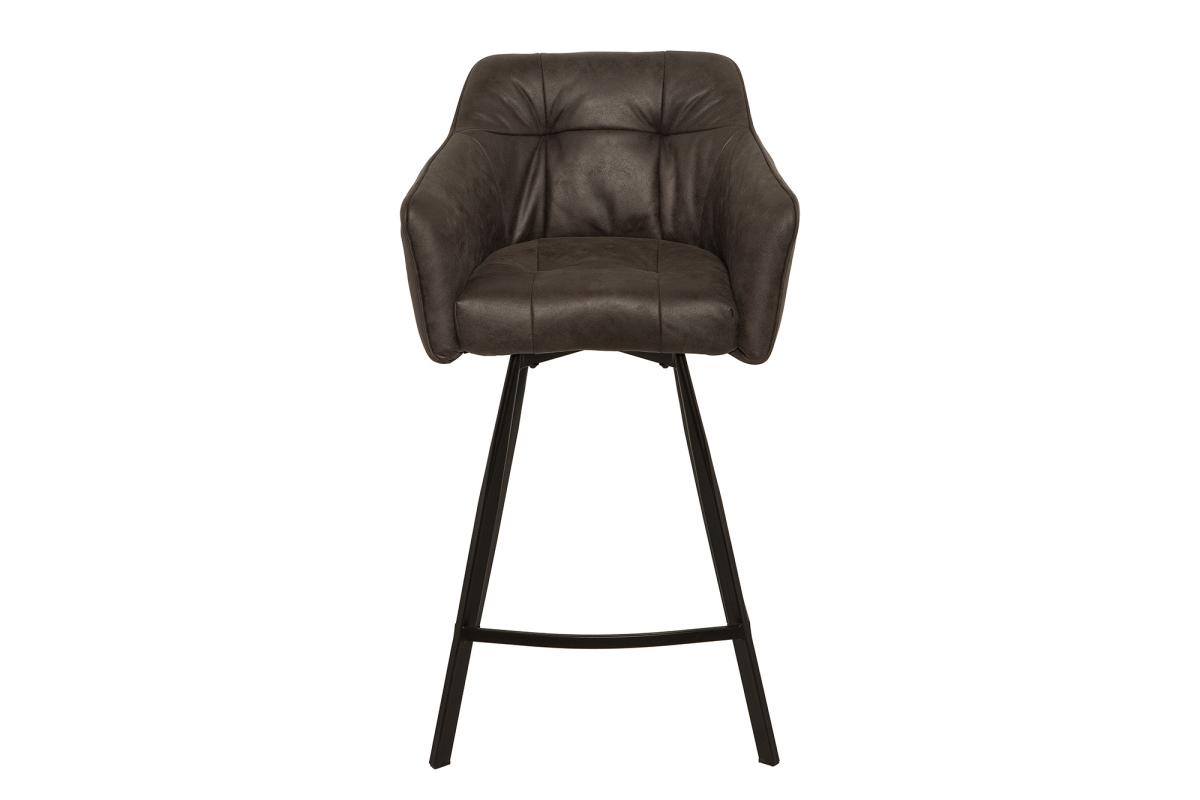 Stílusos bár szék Giuliana - antik szürke