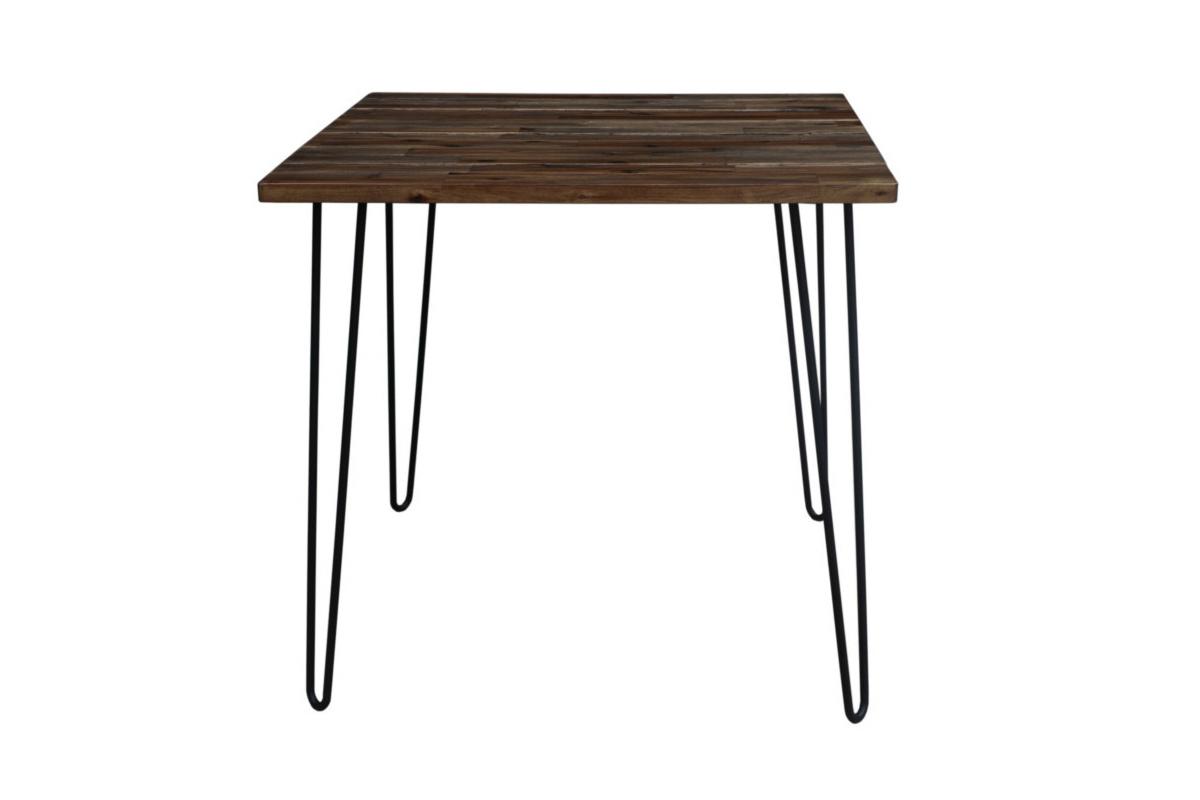 Étkezőasztal Anaya, 80 cm, barna