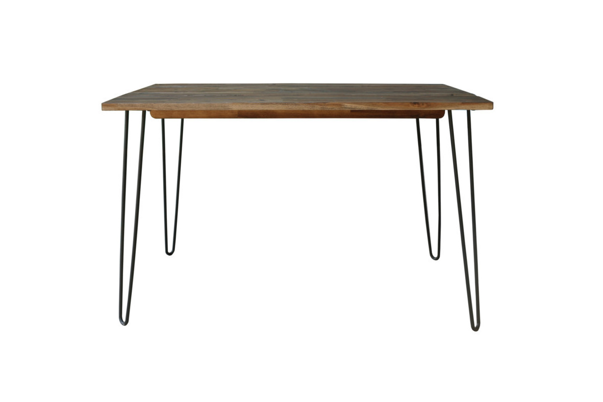 Étkezőasztal Anaya, 120 cm, barna