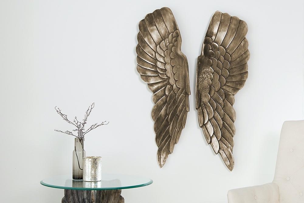 Fali dekoráció Angel 65 cm