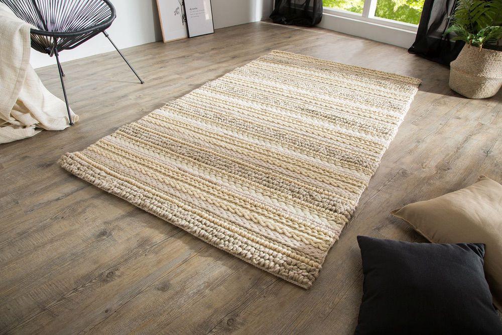 Stílusos szőnyeg Rebecca 200x120 cm / természetes kötöttárú