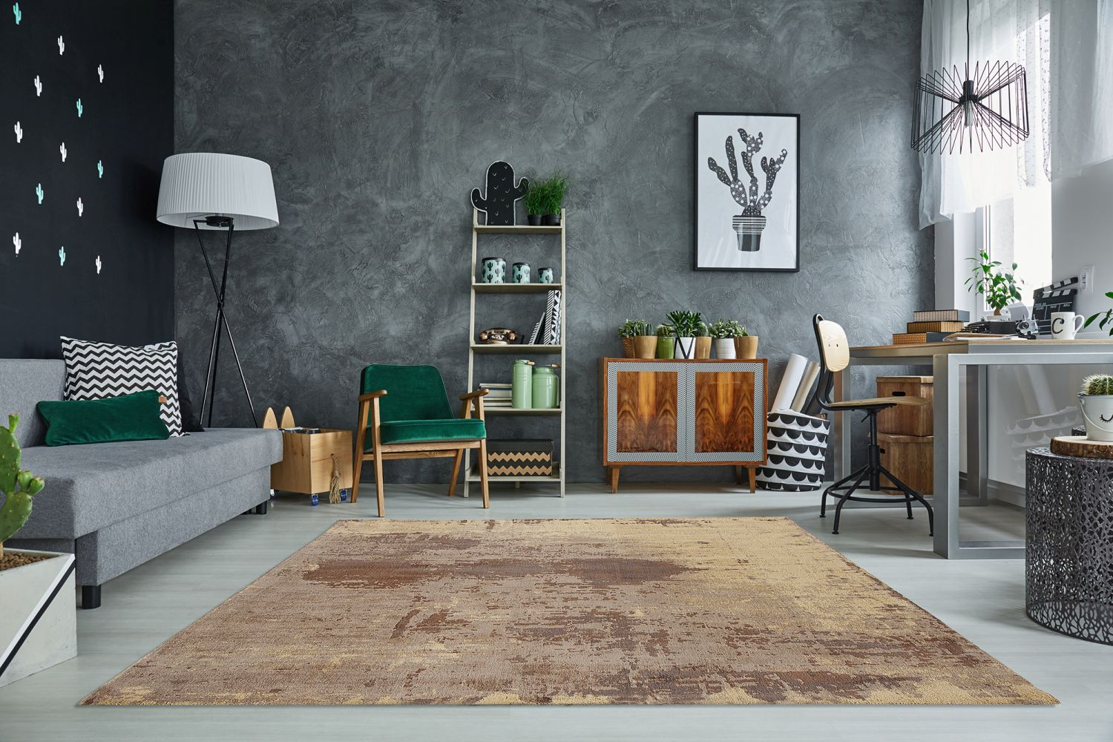 Stílusos szőnyeg Batik 240x160 cm / homok színű