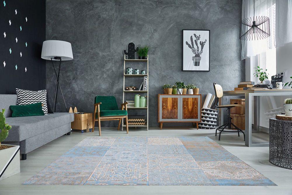 Stílusos szőnyeg Lessie 240x160 cm / világoskék
