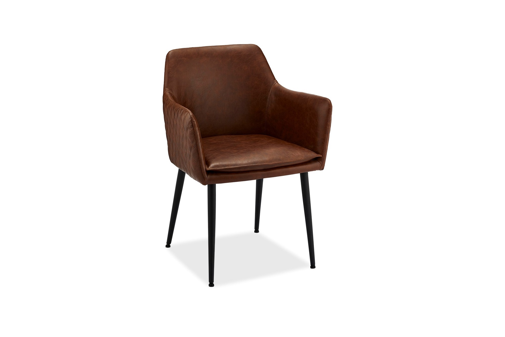 Modern szék Abaddon világosbarna