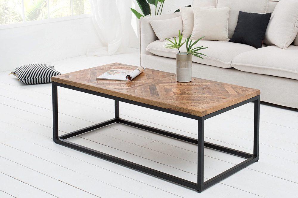Stílusos dohányzóasztal Allen Home 100 cm mangó - raktáron SK-RP